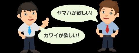 「ヤマハが欲しい」「カワイが欲しい」など、業者によって欲しいピアノや査定の基準は違う