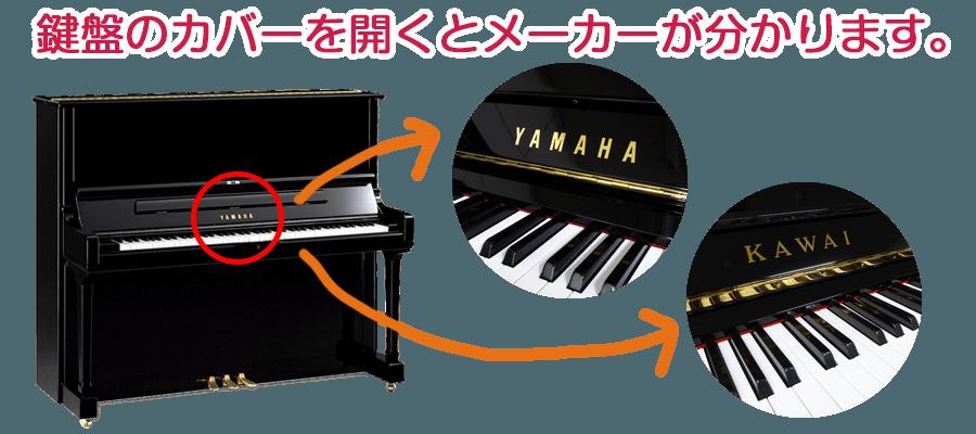 【ヤマハ・カワイ両対応】ピアノのモデル名、製造番号と製造年の調べ方、ご存じですか?
